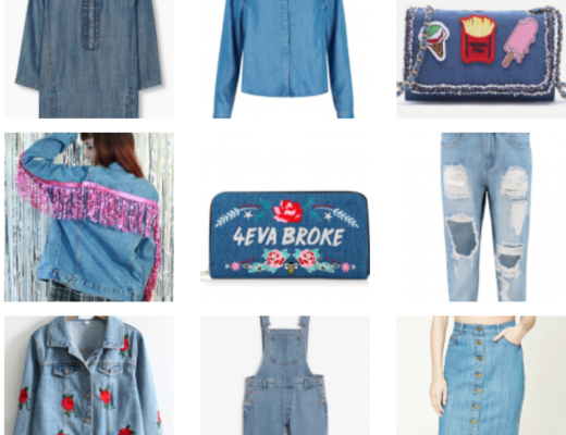 Wishlist : Tendance denim