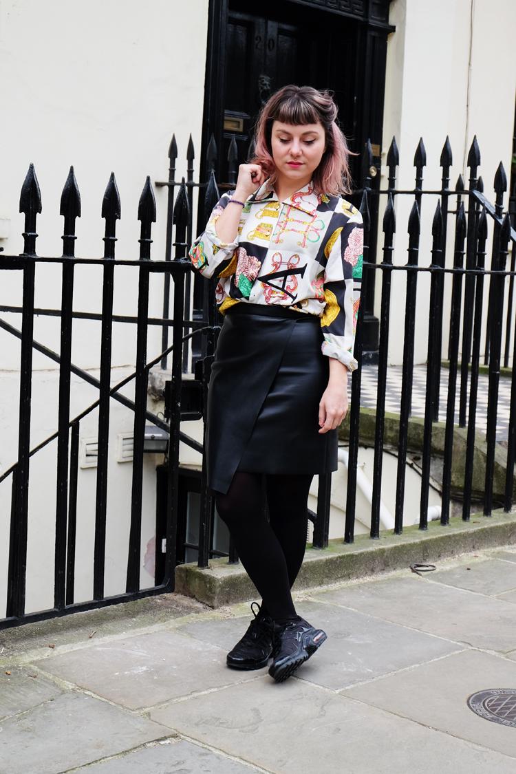 Vintage shirt in London