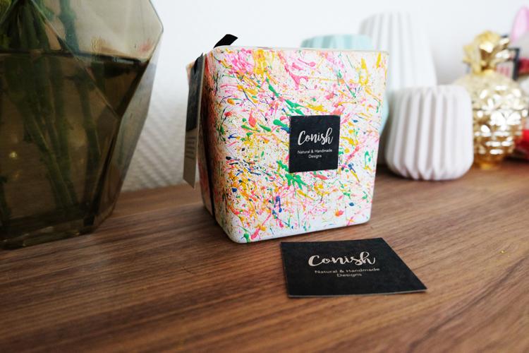 "Calendrier de l'Avent - Cadeau 1 : Les bougies naturelles ""Conish"""